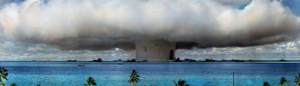 US nuclear weapons test at Bikini Atoll in 1946