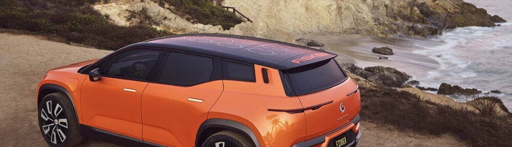 Fisker Ocean SUV will have Seeing Machines driver and occupant monitoring
